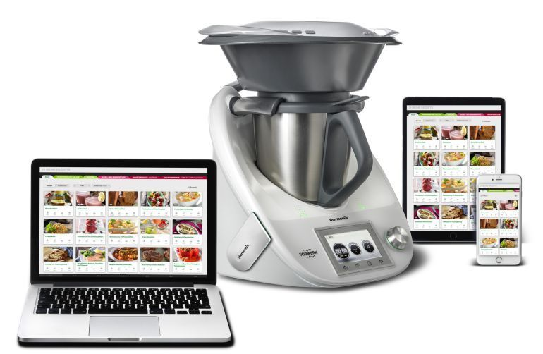 Cook-Key comunicacion WiFi de Thermomix